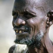 Farmer In Ethiopia Art Print