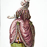 Fashion: French, 1778 Art Print