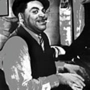 Fats Waller Stormy Weather Set 1943-2015 Art Print