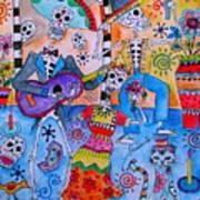 Fiesta Calaveras Art Print
