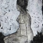 Figure Study 028 Art Print