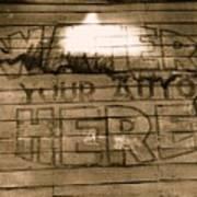Film Homage Gregg Toland John Ford Henry Fonda The Grapes Of Wrath 2 1940 Ft. Steele Wy 1971-2008 Art Print