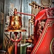 Fireman - The Fire Bell Art Print