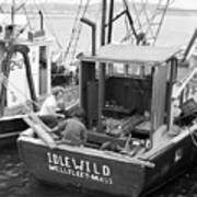 Fishing Boat Idlewild Wellfleet Massachusetts Art Print