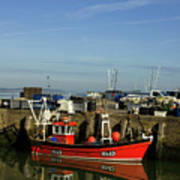 Fishing Boats At Whitstable Harbour 02 Art Print