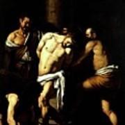 Flagellation Of Christ Art Print
