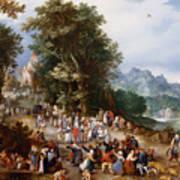Flemish Fair Art Print