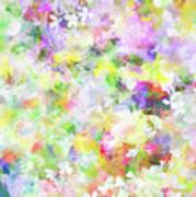 Floral Art Lviii Art Print