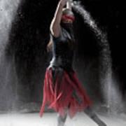 Flour Dancing Series Art Print by Cindy Singleton