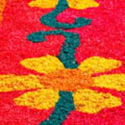 Flower Carpets Art Print