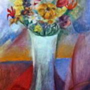 Flowers In Vase Vii Art Print
