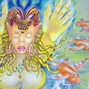 Fly N Fish Art Print