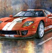 Ford GT 40 2006  Art Print