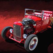 Ford Hot Rod Roadster Art Print