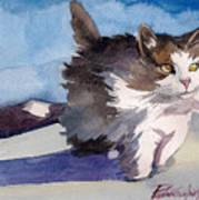 Forest Cat Art Print