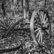 Forgotten Wagon Art Print