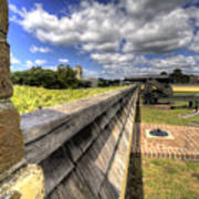 Fort Moultrie Cannon Art Print