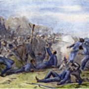 Fort Pillow Massacre, 1864 Print by Granger