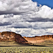 Fort Rock Art Print