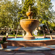 Fountain At Tlaquepaque Art Print