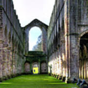 Fountains Abbey 7 Art Print