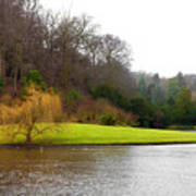 Fountains Abbey  Lake 1 Art Print