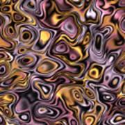 Fractal Modern Art Seamless Generated Texture Art Print