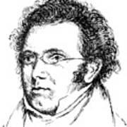 Franz Schubert (1797-1828) Art Print