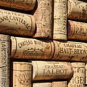 French Wines Art Print