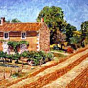 Fresh Cut Hay Provence Art Print