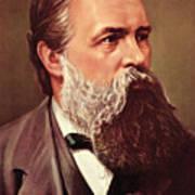 Friedrich Engels Art Print