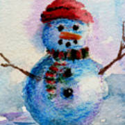 Frosty Aceo Art Print