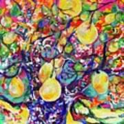 Fruit Full Vibrations Art Print