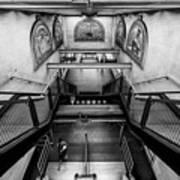 Fulton Street Subway Art Print