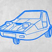 Funny Car Art Print