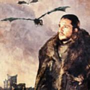 Game Of Thrones. Jon Snow. Art Print