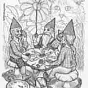 Game Triangle Art Print