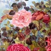 Garden Party/portion  Art Print