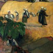 Gauguin: Breton Women Art Print