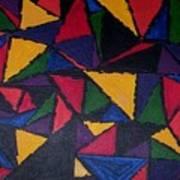 Geopaint1 Art Print