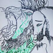 Gethsemanes Promise Art Print