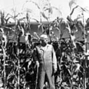 Giant Corn Man Art Print by Gerhardt Isringhaus
