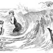 Gibson: Bather, 1902 Art Print