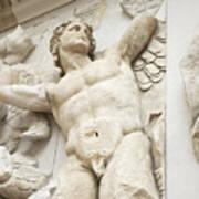Gigantes  With Eros Art Print