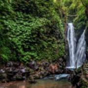 Git Git Waterfall - Bali Art Print