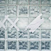 Glass Wall Art Print