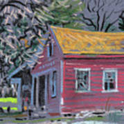 Glenbrook Carriage House Art Print