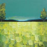 Canola Field N04 Art Print