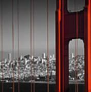 Golden Gate Bridge Panoramic Art Print