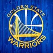 Golden State Warriors Door Art Print